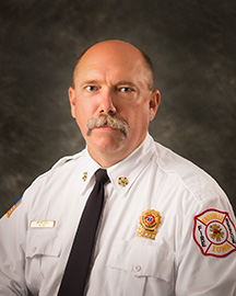 Fire Chief Jim Mitchell